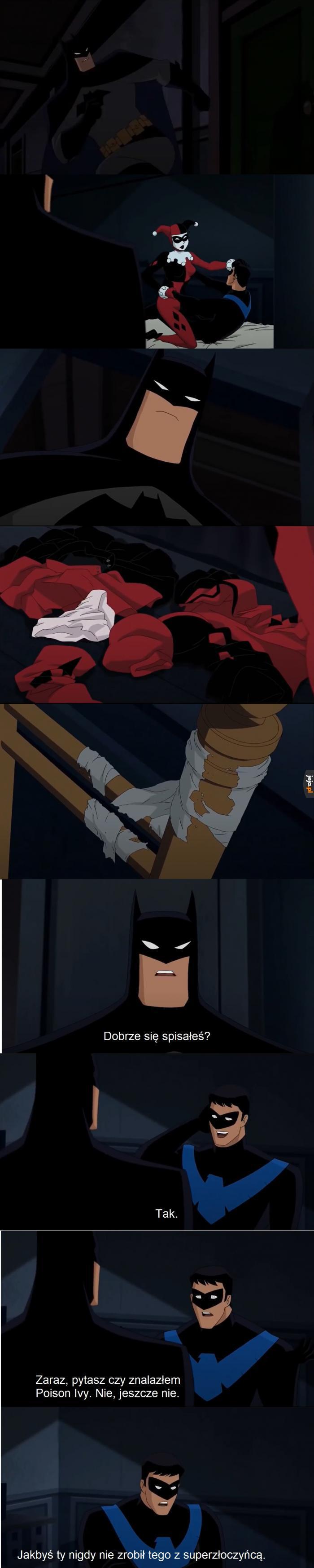 Batmanowi nieraz się zdarzyło...
