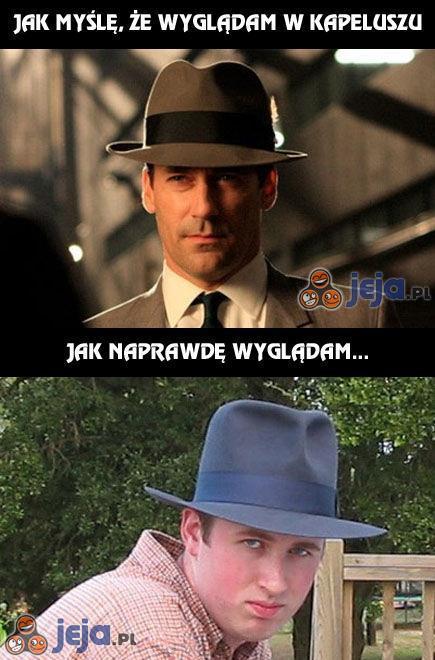 Problemy z kapeluszem...