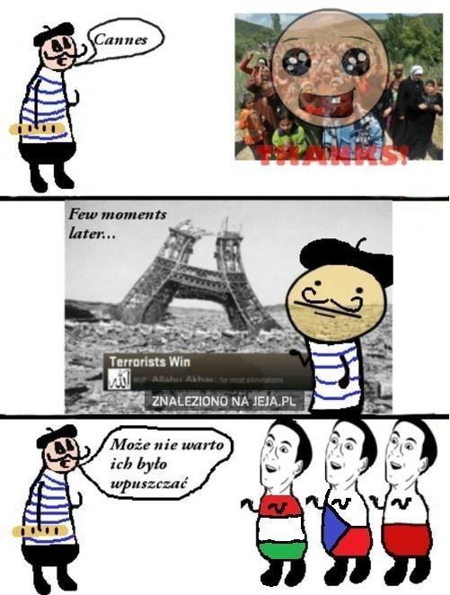 Mądry Francuz po szkodzie