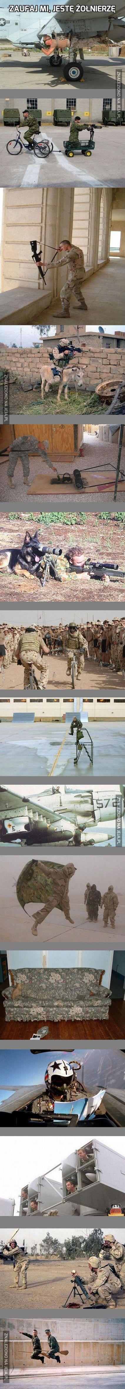 Zaufaj mi, jestę żołnierzę