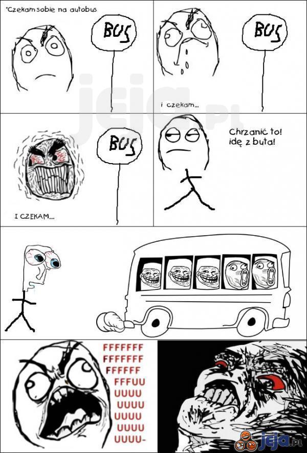 Autobusy coś do mnie mają