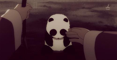 Jaka słodka panda!