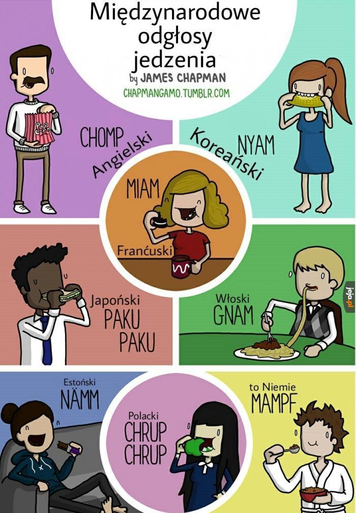 Odgłosy jedzenia