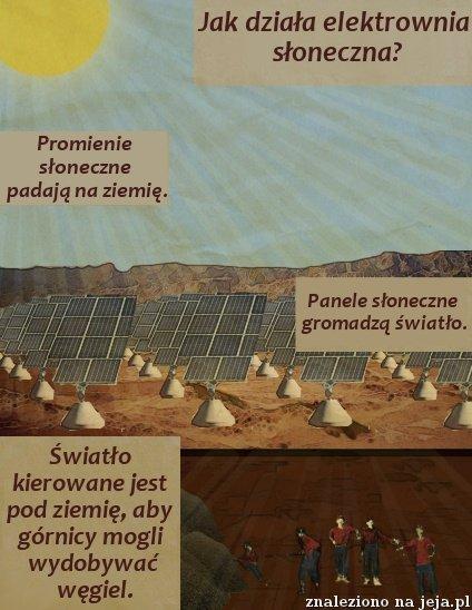 Jak działa elektrownia słoneczna?