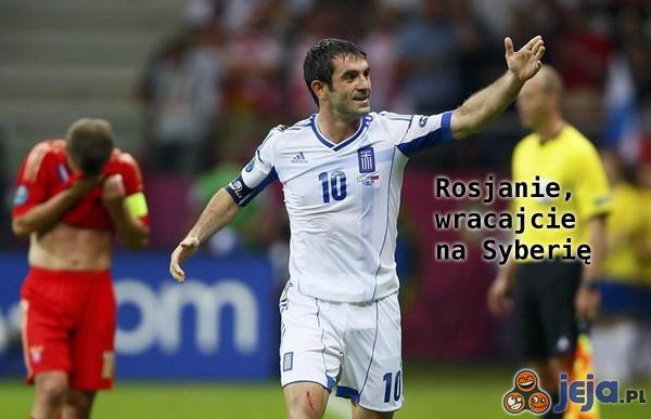 Grecy żegnają Rosjan