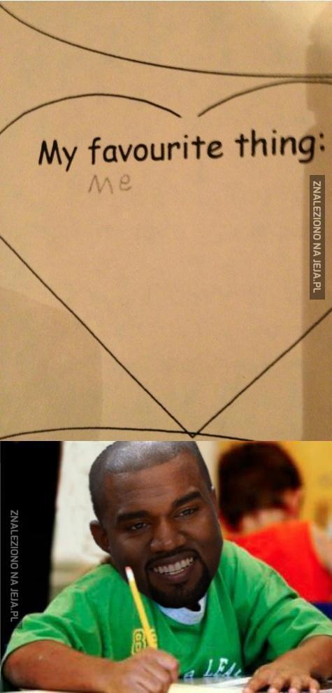 Kanye pisze test