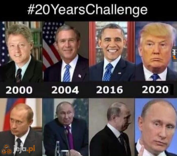 Prezydenci USA i... Putin