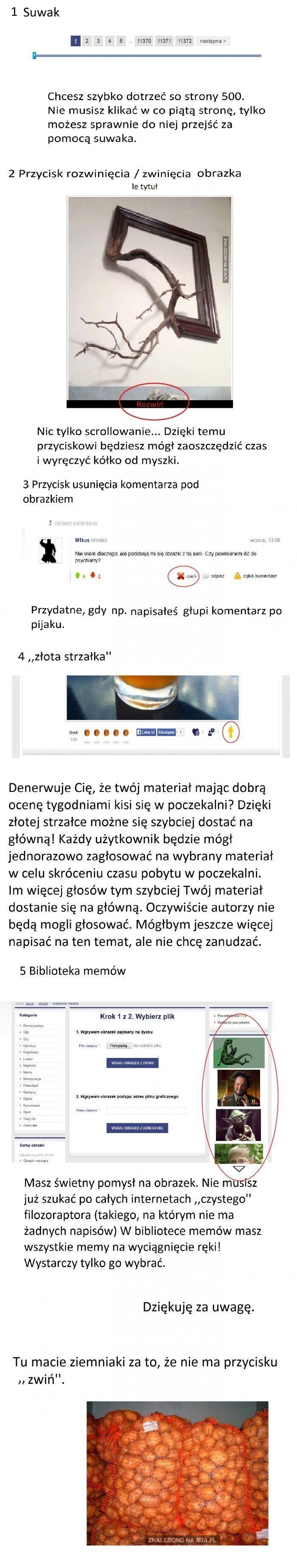 Pomysły na ułatwienie życia na Jeja.pl