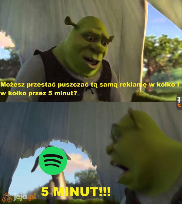 Spotify, przestań!