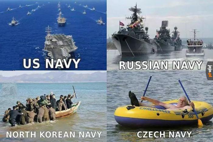 Marynarki wojenne różnych krajów