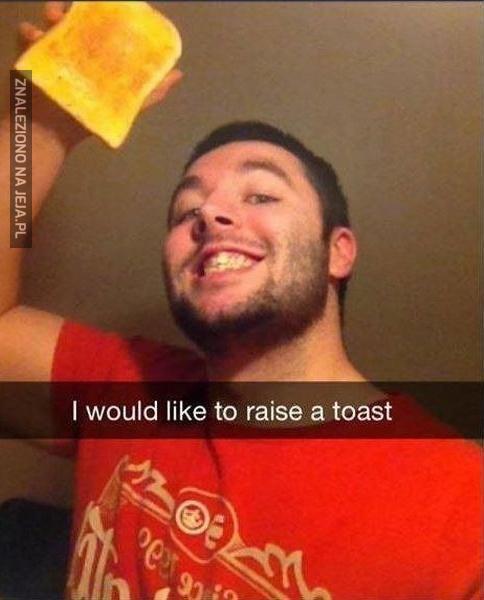 Chciałbym wznieść toast!