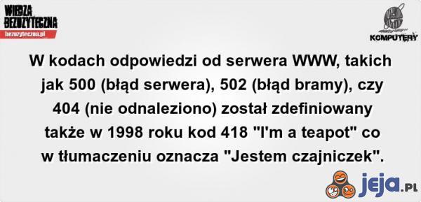 Błąd 418