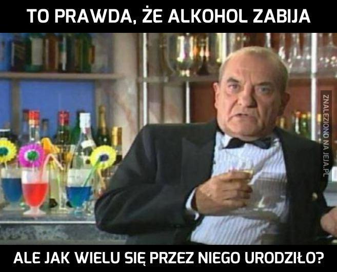 Alkohol ma wady i zalety