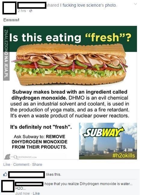 Stop chemii w żywności!