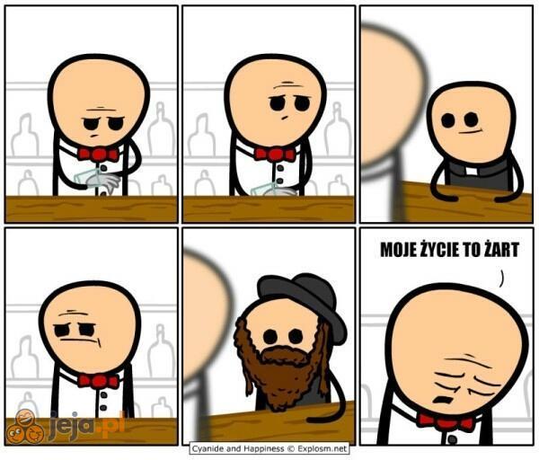 Ksiądz i rabin wchodzą do baru...