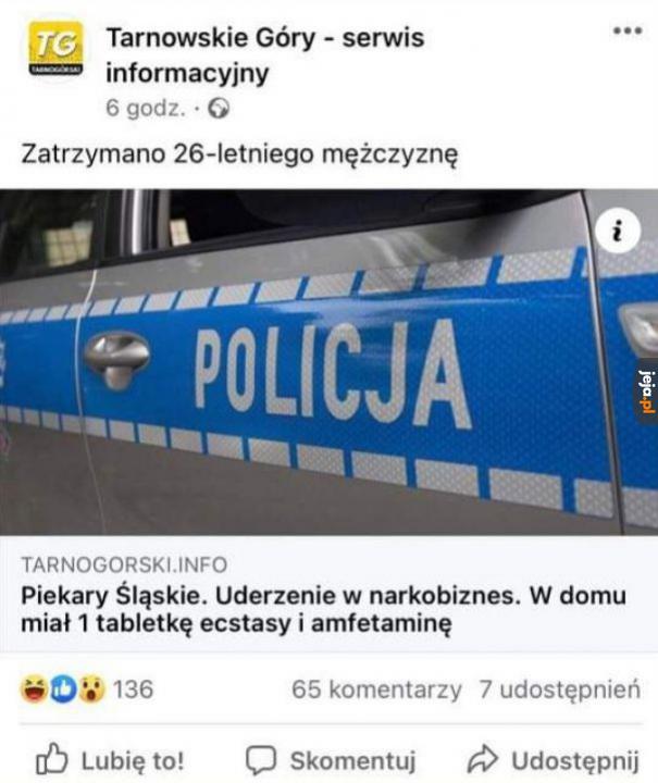 Spektakularny sukces polskiej policji