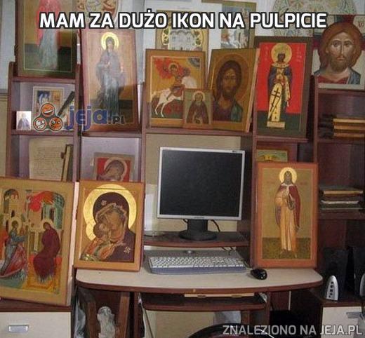 Mam za dużo ikon na pulpicie