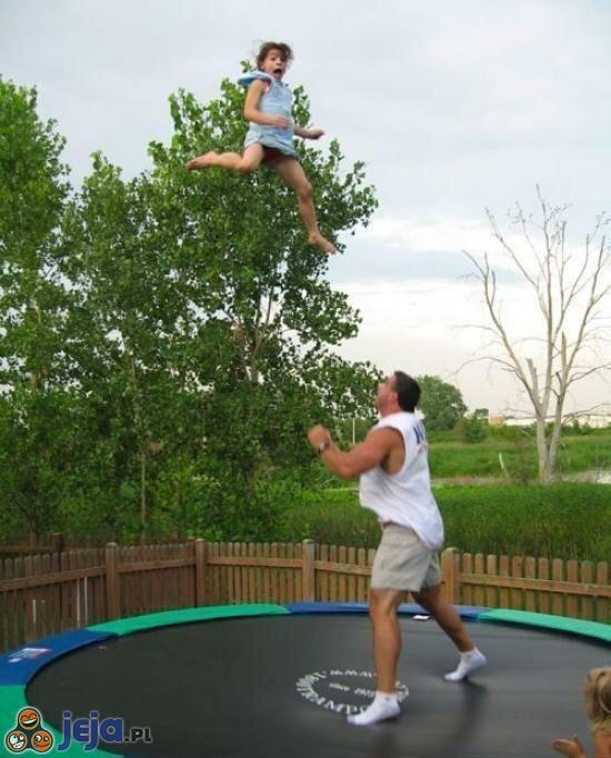 Zabawa z tatą