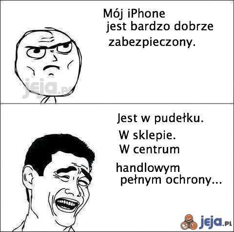 Zabezpieczenie Iphone'a