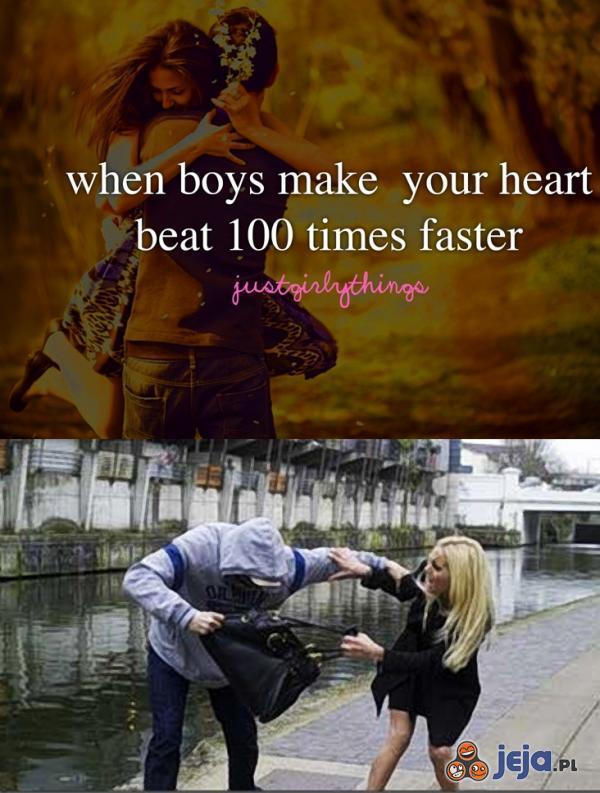 Gdy chłopcy sprawiają, że serce szybciej bije