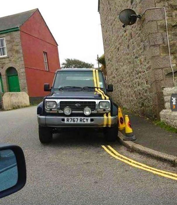 Trzeba było tu nie parkować