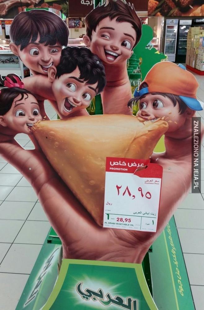 Reklamy w Arabii Saudyjskiej...