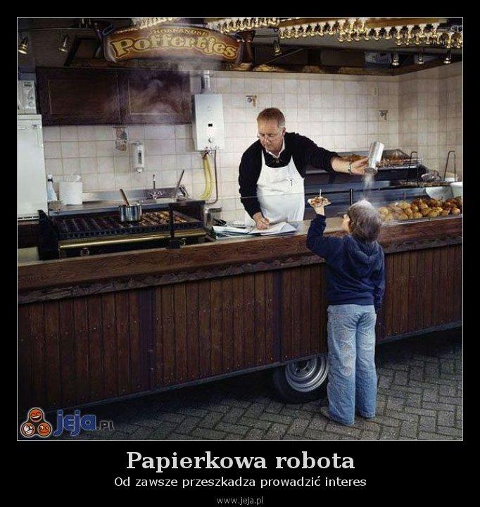 Papierkowa robota