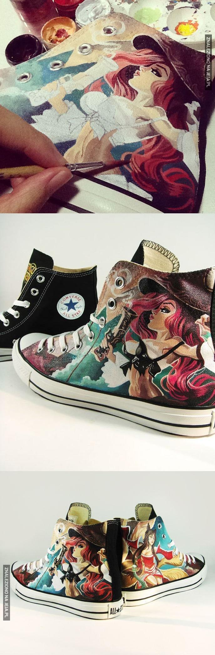 Niech ktoś mi tak pomaluje buty!