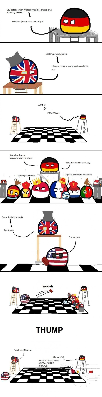 Szach-mat, Niemcy!