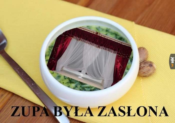 Niby zupa, a sucha