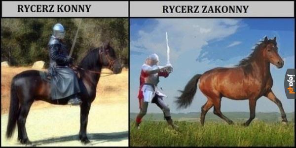 Jak odróżnić rycerzy