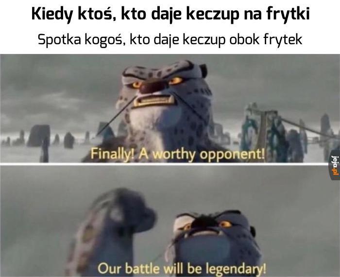 Keczupowa bitwa