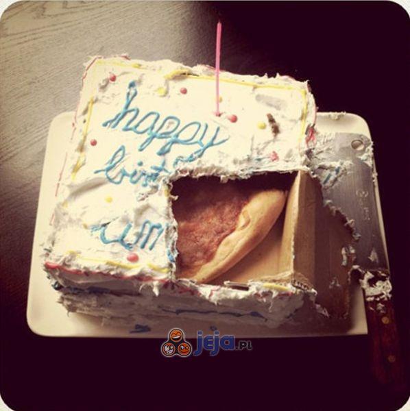 Tort niespodzianka