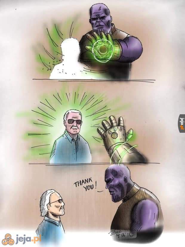 Stan Lee na zawsze w naszych sercach