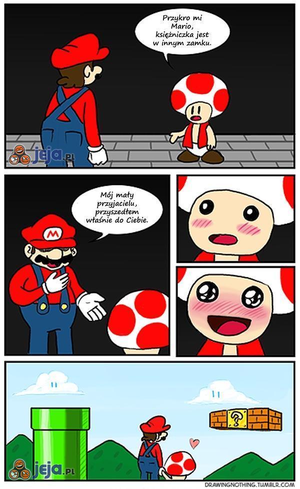 Mario znalazł to czego szukał