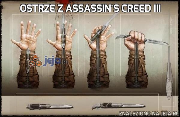 Ostrze z Assassin's Creed III
