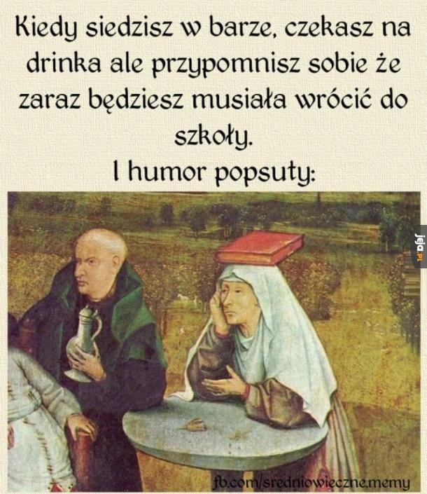 Kiedy siedzisz w barze...