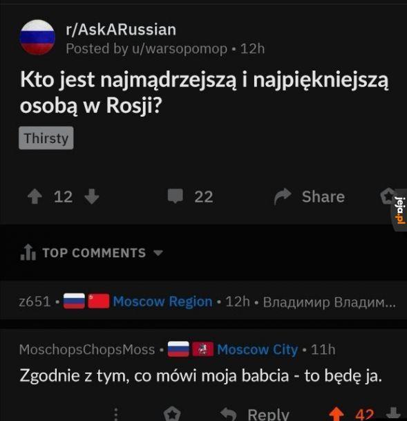 Rosyjskie mądrości