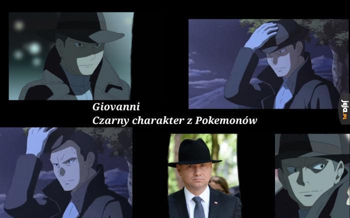 Czarny typ z Pokemonów