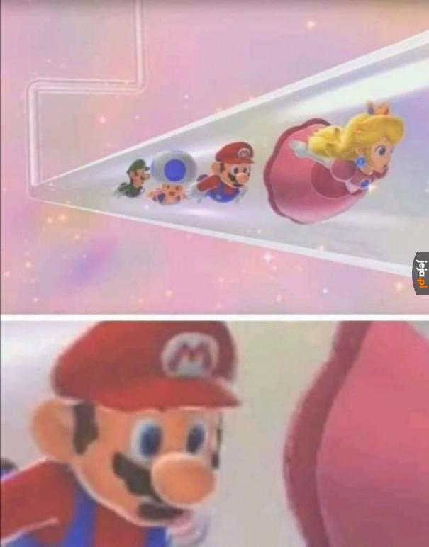 Co tam Mario widzisz?