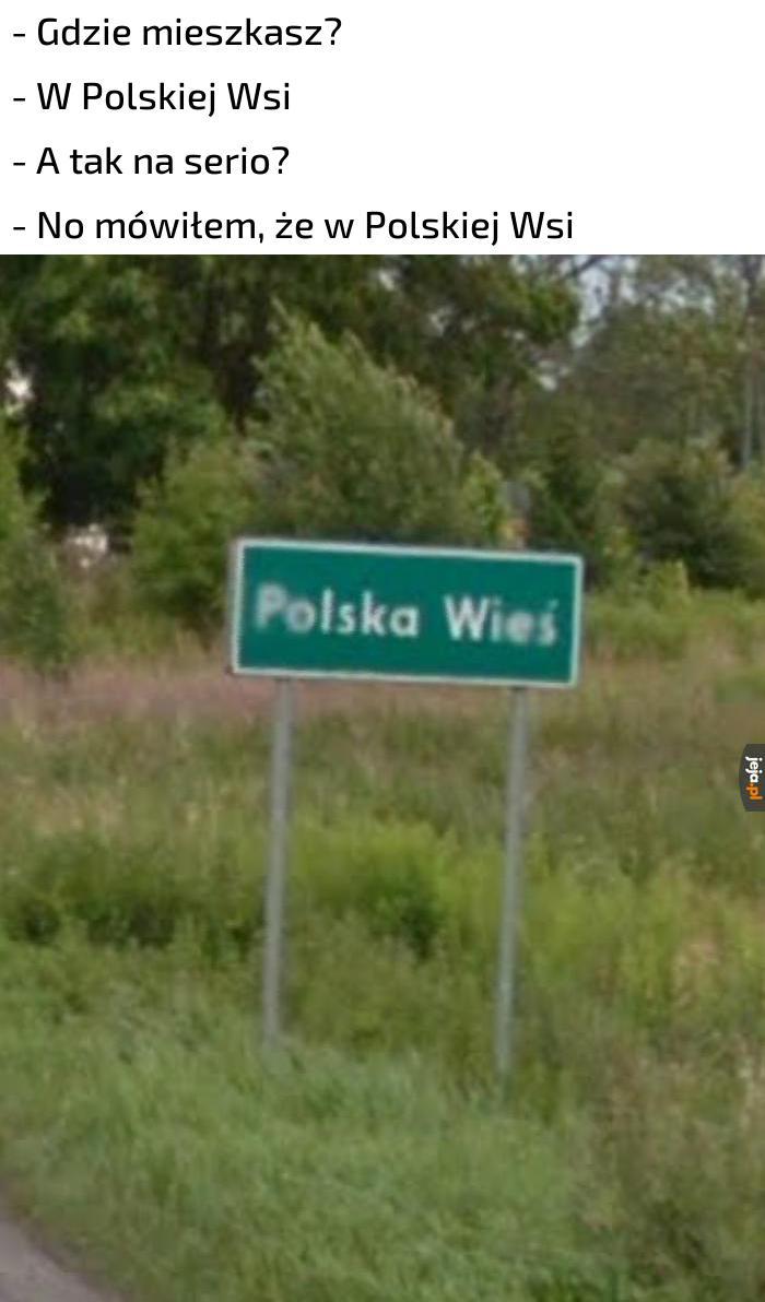 I tak to się żyje na tej Polskiej Wsi