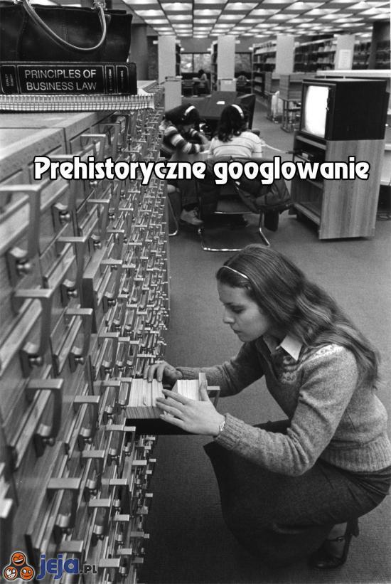 Prehistoryczne googlowanie