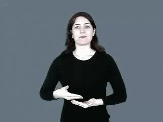 Aborcja w języku migowym