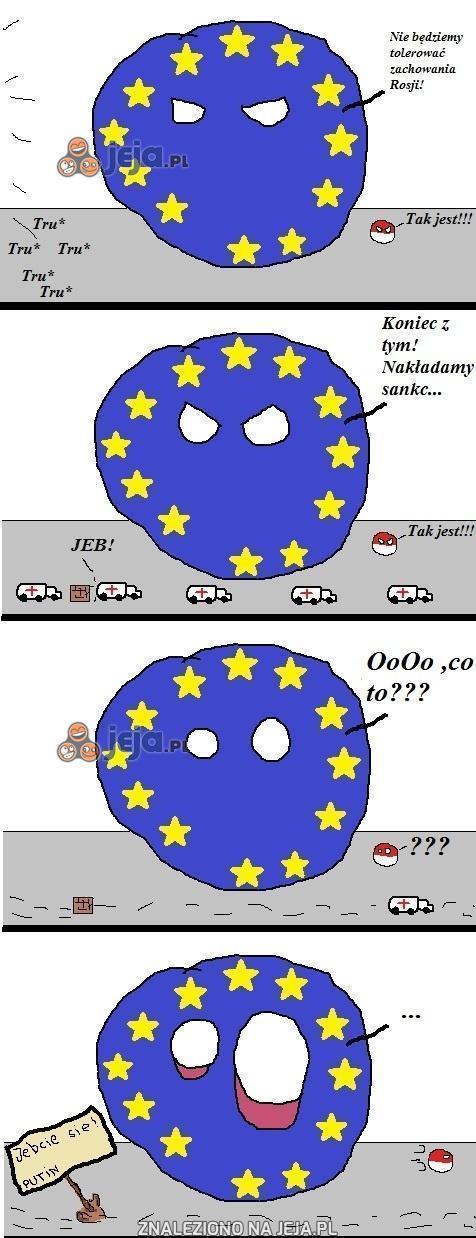 Putin kontra Unia Europejska
