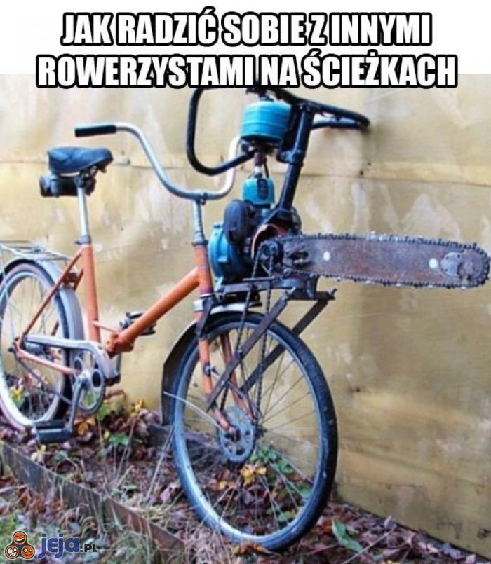 Lifehack na ścieżki rowerowe