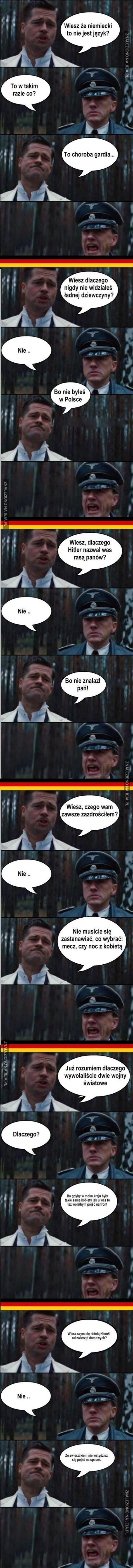 Jak załatwić Niemca?