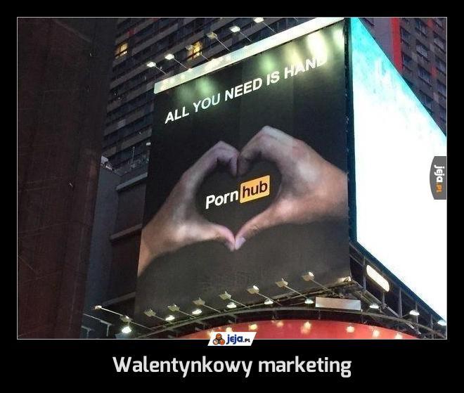 Walentynkowy marketing