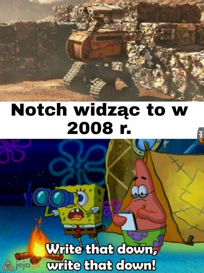 I tak powstał Minecraft