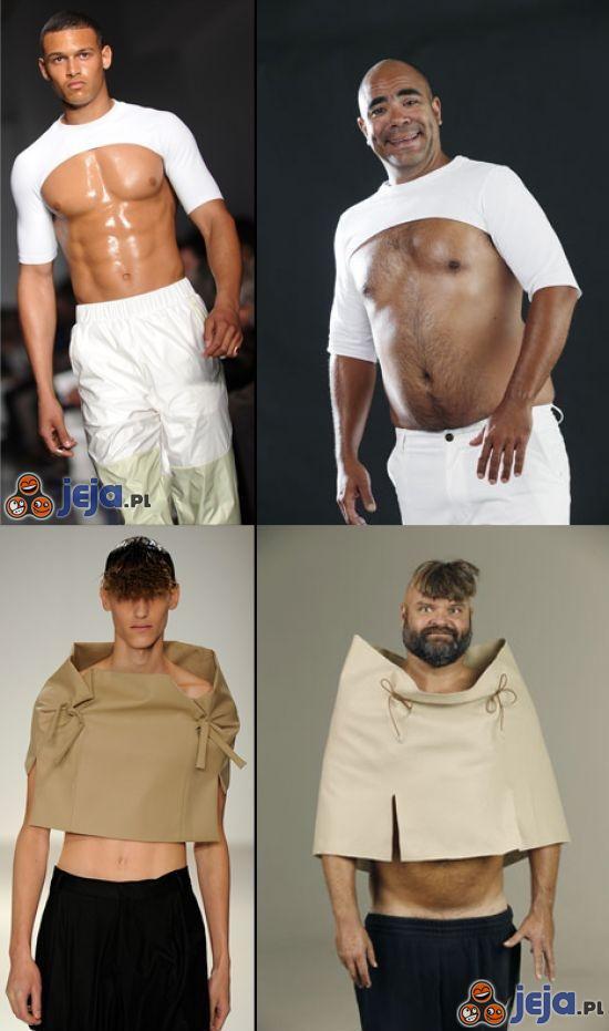 Pokaz mody vs Rzeczywistość