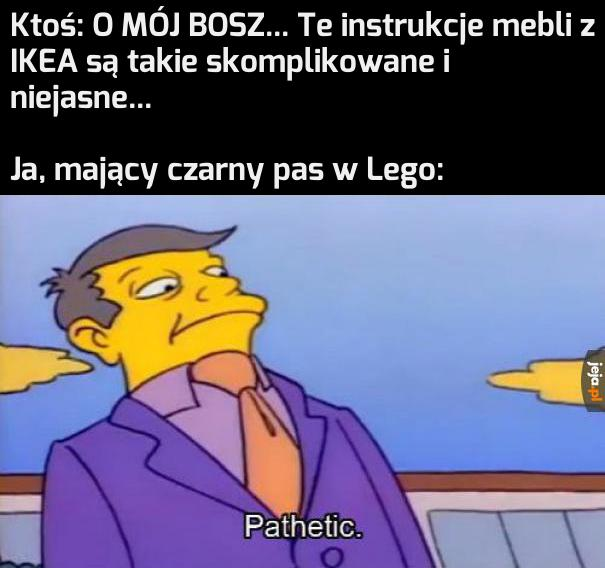 Lego uczy życia